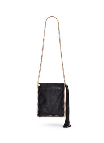 'Falabella' crossbody flat chain bag