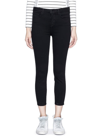 'Claudine' cropped skinny pants