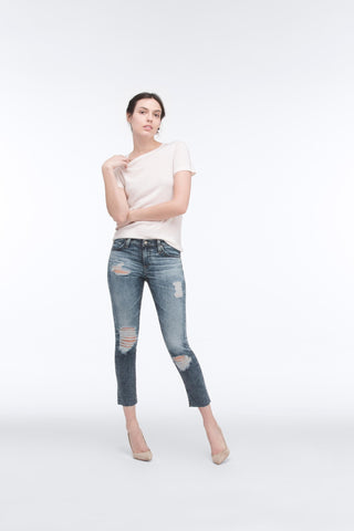 AG Jeans The Stilt Crop - 11 Years Sail Away 24 - Women's Women