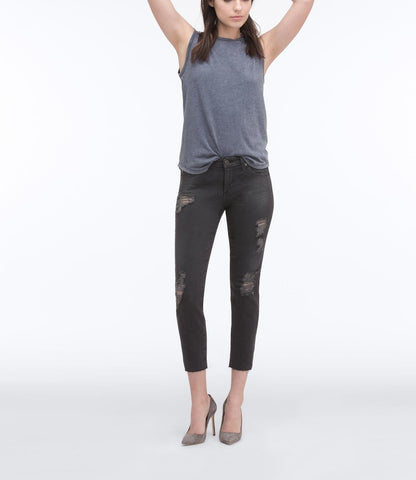 AG Jeans The Stilt Crop - 5 Years Asphalt Grey 24 - Women's The Stilt Crop