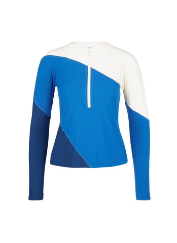 'Elliot' colourblock long sleeve rashguard