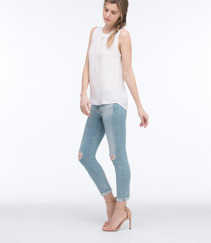 AG Jeans The Stilt Crop - Lazy Blue 24 - Women's The Stilt Crop