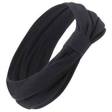 Black Headband With Knot