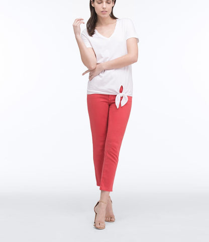 AG Jeans The Stilt Crop - Hi-white Dahlia 24 - Women's Best Sellers