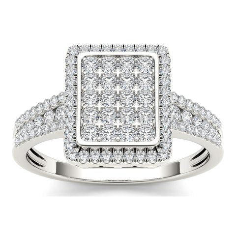 """1/2ct TDW Diamond Fashion Ring In 10K""-26589 - SprintShopping"