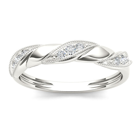 """1/10ct TDW Diamond Fashion Ring in 10K""-26604 - SprintShopping"