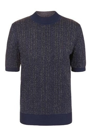 *Lamont Tee By Unique - Navy Blue