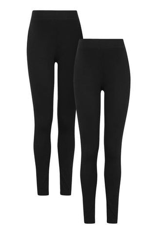 *MATERNITY Multi-Pack Leggings - Black