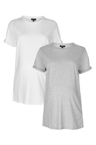 *MATERNITY Multi-Pack Boyfriend Tees - Multi