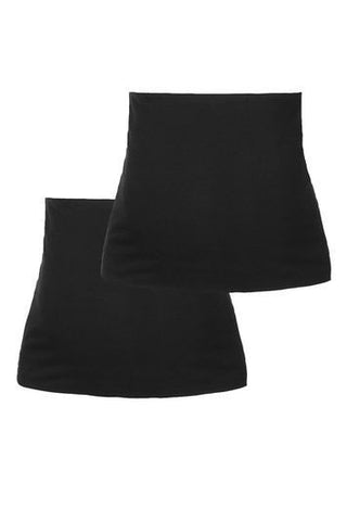 *MATERNITY Two Pack Bump Band - Black