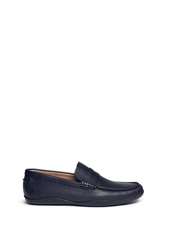 'Basel 4' leather penny loafers