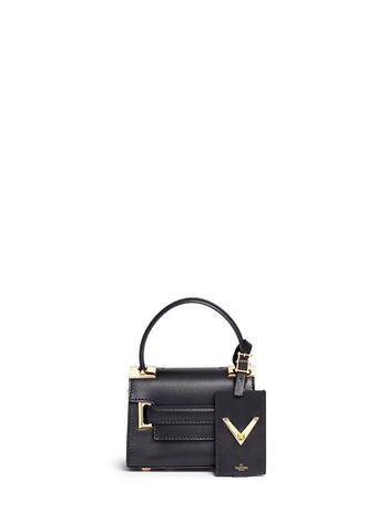 'My Rockstud' mini top handle leather bag-9553