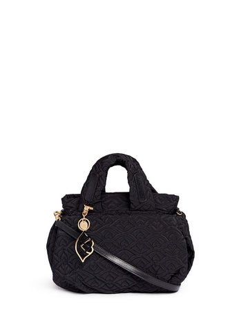 'Bisou' logo stitch shoulder bag-9718