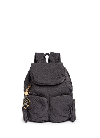 'Bisou' small logo stitch backpack-9353