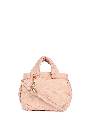 'Bisou' logo stitch shoulder bag-9776