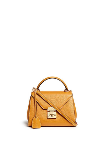 'Hadley Baby' leather flap bag