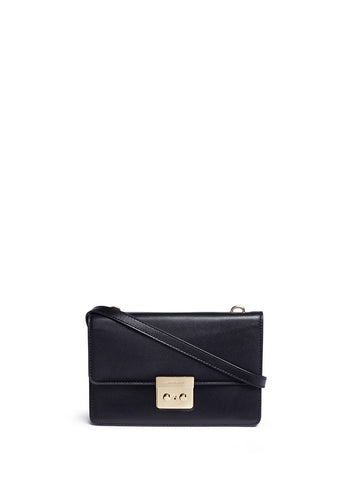 'Sloan' large leather crossbody bag