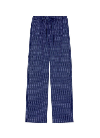 'Ally' polka dot cotton tie pants