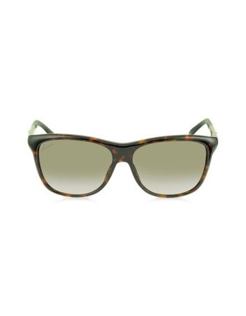 3613/S 6F4HA Brown and Beige Havana Acetate Sunglasses
