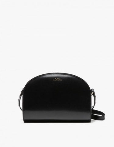 A.P.C. Sac Demi-Lune in Dark Navy