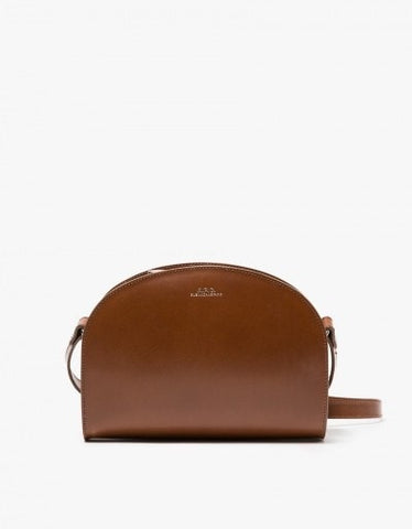 A.P.C. Sac Demi-Lune in Hazelnut