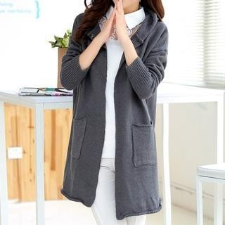 3/4 Sleeved Knit Cardigan-32902