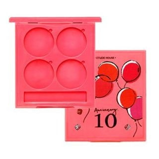10th Anniversary Lets Pink Empty Shadow Case (4 Colors) 1pc