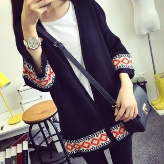3/4-Sleeve Cardigan-77696