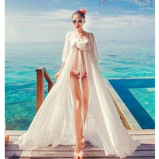 Beach Chiffon Cover-Up