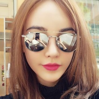 2-Way Round Sunglasses