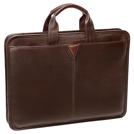 Johnston & Murphy Slimline Briefcase -Men's