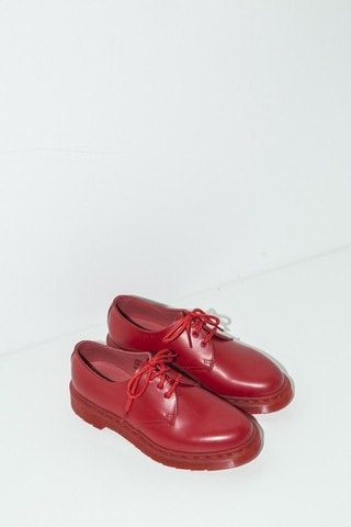 1461 Lace-up Oxford - Poppy Red