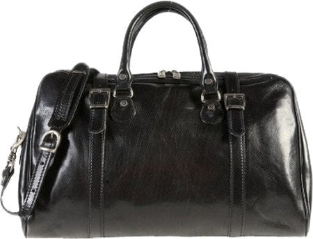 Alberto Bellucci Milano Travel Leather Bag