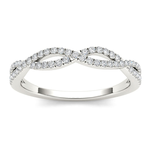 """1/6ct TDW Diamond Fashion Ring in 10K""-26616 - SprintShopping"
