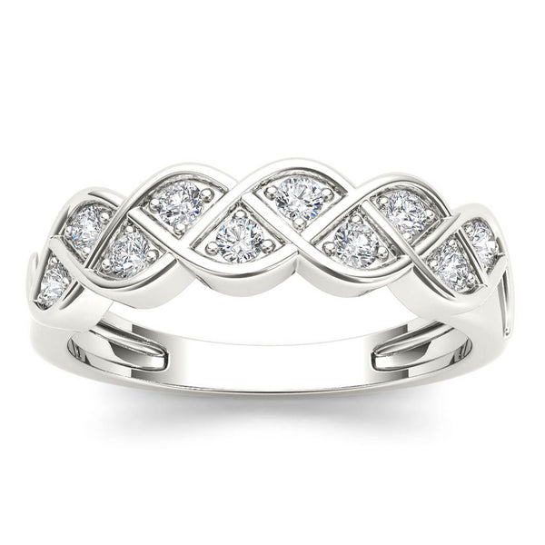 """1/4ct TDW Diamond Fashion Ring in 10K""-26618 - SprintShopping"