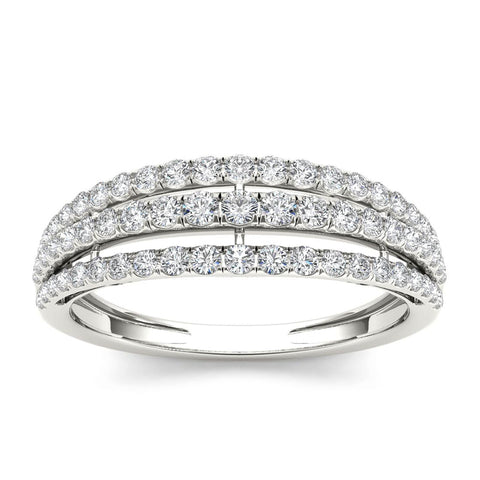 """1/2ct TDW Diamond Fashion Ring in 10K""-26614 - SprintShopping"