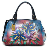 Anuschka Triple Compartment Large Satchel -Women's