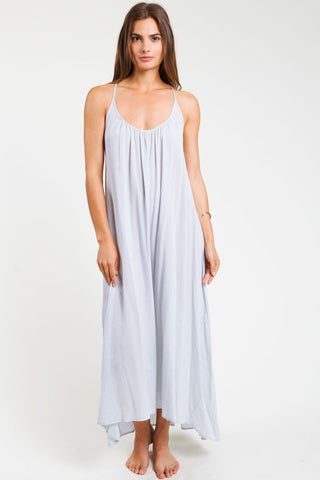 9 Seed Seychelles Maxi Cover-Up in Glacier