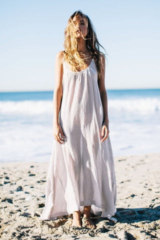 9 Seed Tulum Maxi Cover-Up in Desert
