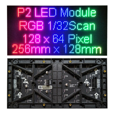 P2 LED Display Modules - LED Display Module Dot Matrix Supplier