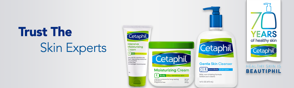 Image result for Cetaphil skin care product banner