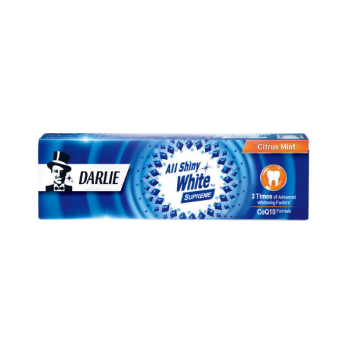 Darlie All Shiny White Supreme Citrus Mint Toothpaste, 120g- Koyara