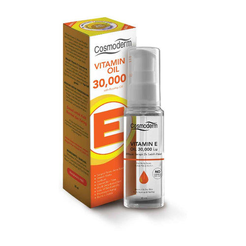 Cosmoderm Vitamin E Oil 30,000 I.U. 30ml - Koyara - Health Marketplace Malaysia