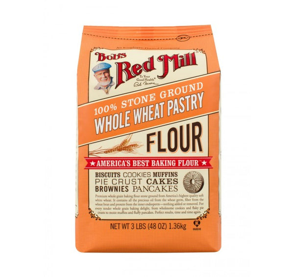 Bob's Red Mill, Whole Wheat Pastry Flour (2270gm)