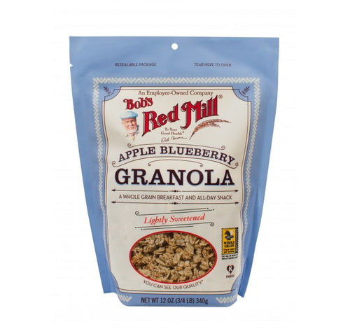 Bob's Red Mill, Apple Blueberry Granola (340gm)