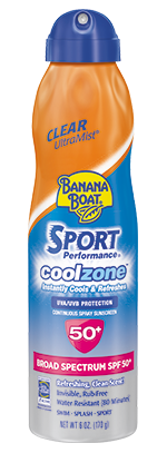 Banana Boat® Sport Coolzone® Sunscreens (SPF 50)(170g)