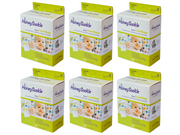 Honeysuckle Baby Food Bags/ Small Milk & Pump Bags (Pack of 6)- Koyara