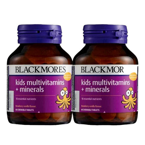Blackmores, Kids Multivitamins+ Minerals (60s x 2)