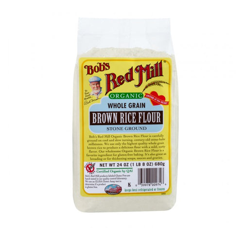 Bob's Red Mill, Organic Brown Rice Flour (680gm)