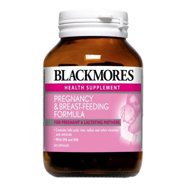 Blackmores, Pregnancy & Breast-feeding Formula (60s)